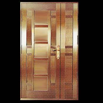 Security Door Copper Steel Security Door Copper over Steel17958grid