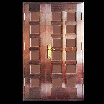 Security Door Copper Steel Security Door Copper over Steel17959grid