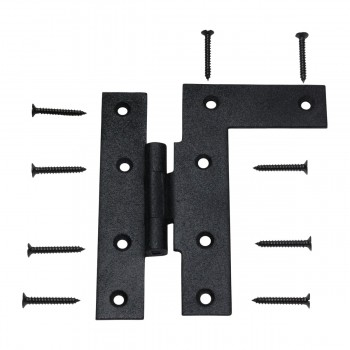 <PRE>Cabinet Hinges Wrought HL Hinge Right 4.5&quot;H w/ Offset </PRE>