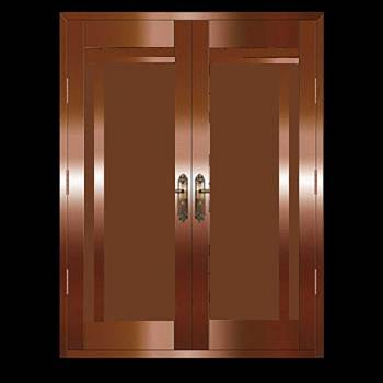 Security Door Copper Steel Security Door Copper over Steel17972grid
