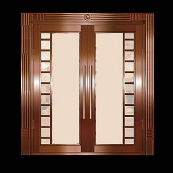 Security Door Copper Steel Security Door Copper over Steel17974grid