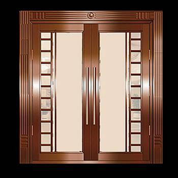 Security Door Copper Steel Security Door Copper over Steel17978grid