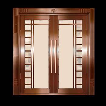 Security Door Copper Steel Security Door Copper over Steel17979grid