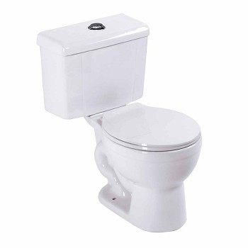Toilets White China Saver Toilet Dual Top Flush Round Toilet17985grid