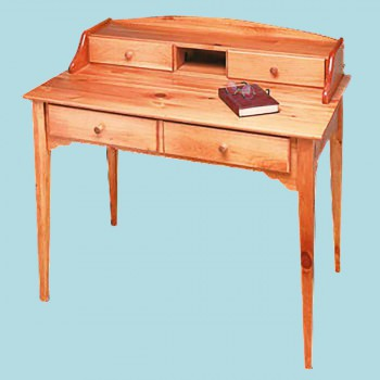 <PRE>Desk Mission Honey Solid Pine Desk </PRE>