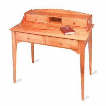 Wood Desk Heirloom Solid Pine Mission Desk for Office Office Desk Office and Computer Desks Home Office Desks