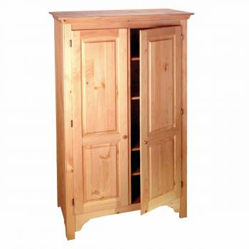 Shaker Country Pine Pine Shaker-style Armoire Country Pine 68 H x 44 W180013grid
