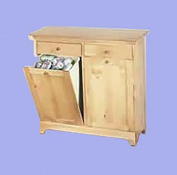 <PRE>Honey Pine Shaker Double Storage Bin Honey Pine</PRE>
