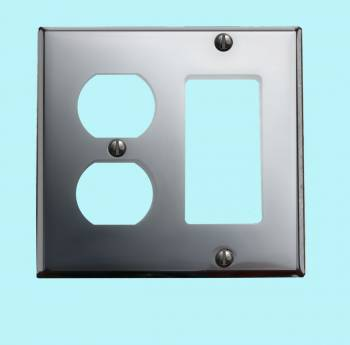 <PRE>Switchplate Chrome GFI Outlet </PRE>zoom2