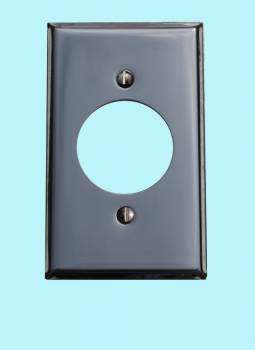 Switchplate Chrome Single Receptacle Switch Plate Wall Plates Switch Plates