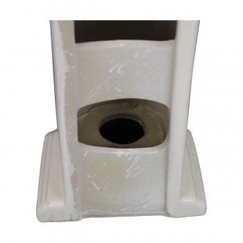 <PRE>Biscuit China Bathroom Pedestal Sink Cloakroom Rectangular Gloss Centerset</PRE>zoom14