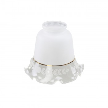 Glass Lamp Shades Frosted Glass Tulip 4.5