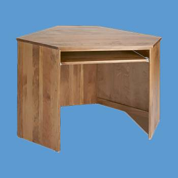 <PRE>Corner Desk Honey Solid Pine Center Corner Desk Unit Honey Pine Stain </PRE>