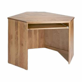 Corner Desk Honey Solid Pine Center Corner Desk Unit Honey Pine Stain 182014grid