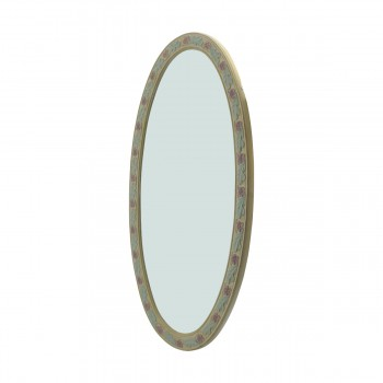<PRE>Victorian Vanity Mirror Oval Poly Flower Frame </PRE>zoom7