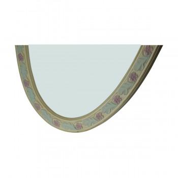 <PRE>Victorian Vanity Mirror Oval Poly Flower Frame </PRE>zoom11