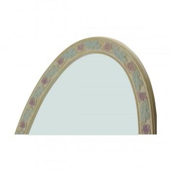 <PRE>Victorian Vanity Mirror Oval Poly Flower Frame </PRE>zoom12