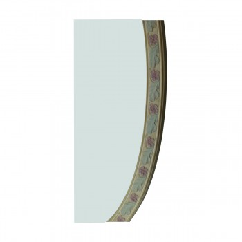 <PRE>Victorian Vanity Mirror Oval Poly Flower Frame </PRE>zoom14