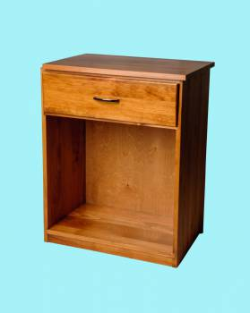 <PRE>Office Desk Honey Solid Pine Printer Stand 1 Drawer </PRE>zoom2