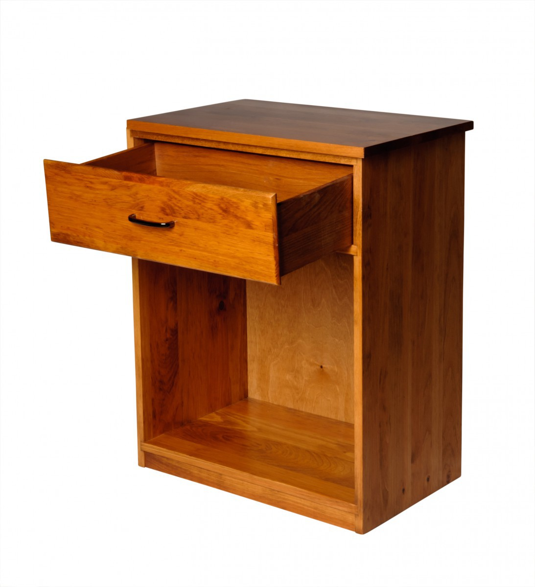 Office Desk Honey Solid Pine Printer Stand 1 Drawer Office Desk Desk Wood Desk