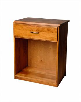 <PRE>Office Desk Honey Solid Pine Printer Stand 1 Drawer </PRE>zoom1