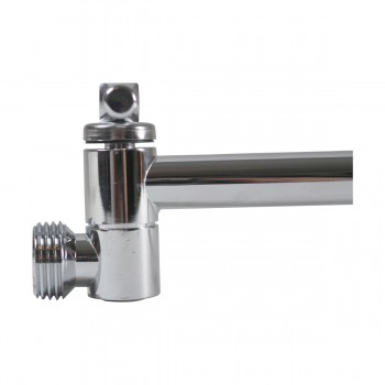 <PRE>Shower Head Chrome Shower Arm Part Only </PRE>zoom10