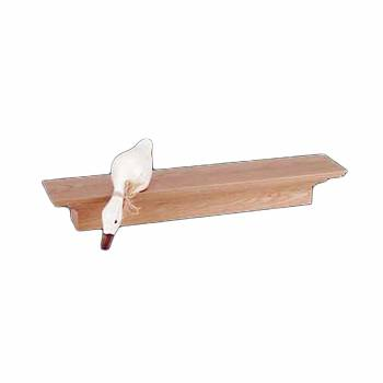 <PRE>Bathroom Shelves Wall Mounted Natural Oak Unfinished Mantle Shelf 30 Inch</PRE>zoom1