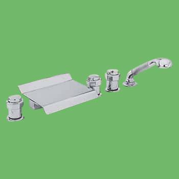 Tub Sets - Waterfall Tub Faucet Chrome by the Renovator's Supply