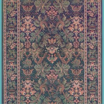 <PRE>Runner Area Rug 2' 3inch Wide, Sold by Foot Blue Olefin  </PRE>zoom2