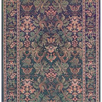 <PRE>Runner Area Rug 2' 3inch Wide, Sold by Foot Blue Olefin  </PRE>zoom1