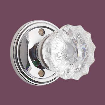 <PRE>Privacy Door Knob Set 2 3/8inch Clear Glass </PRE>zoom2