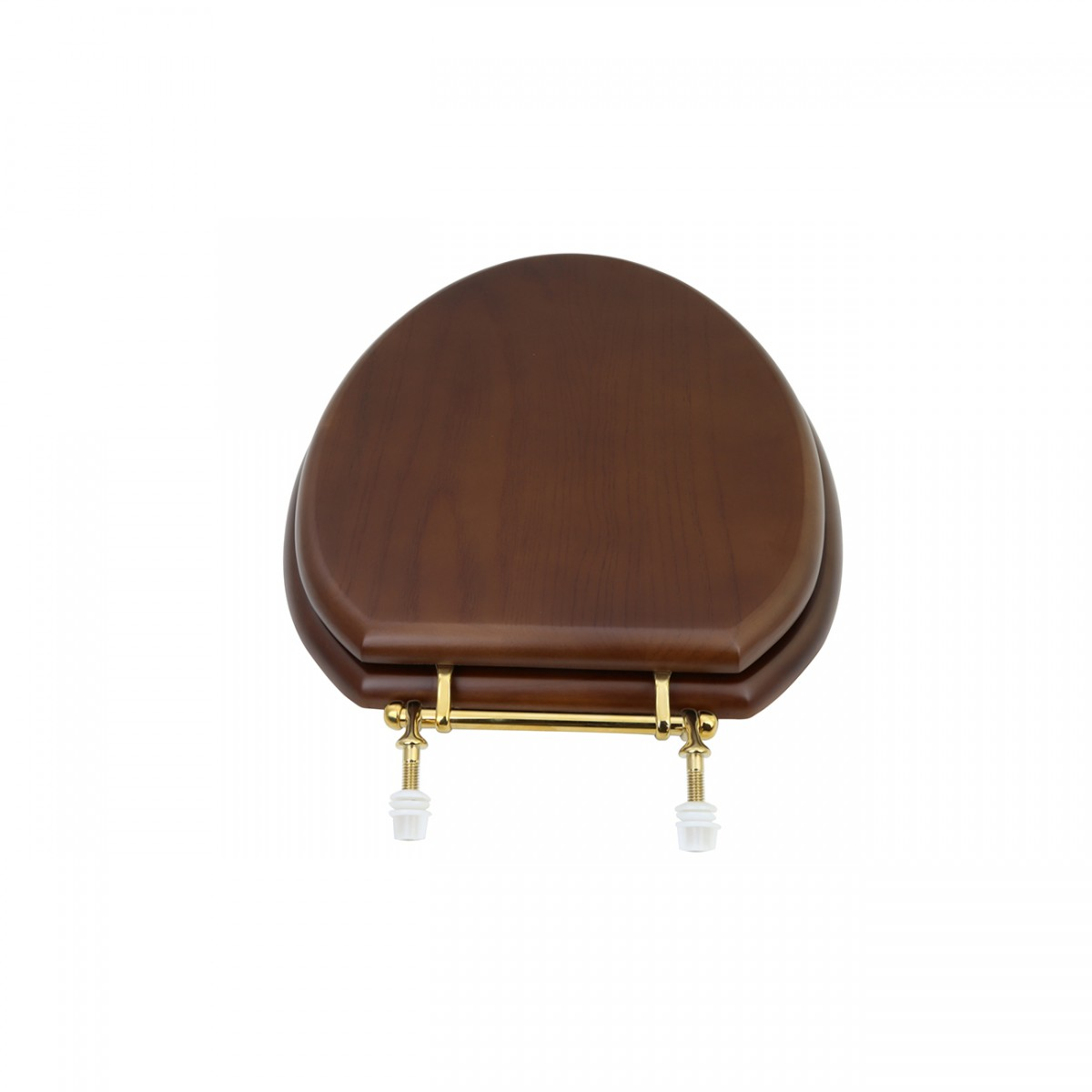 Toilet Seat Elongated Solid Wood Dark Oak Brass Hinge wooden toilet seats wood toilet seats wood toilet seat