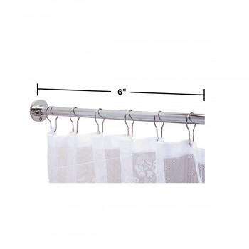 spec-<PRE>Shower Curtain Rod Bright Chrome 6 Feet Long </PRE>