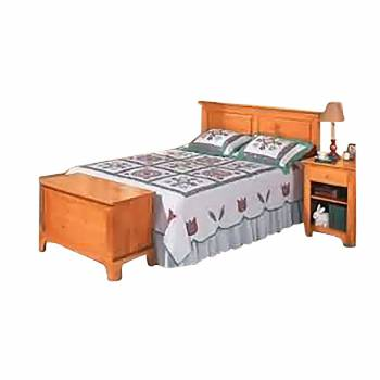 Unfinished Pine Shaker Headboard King185910grid
