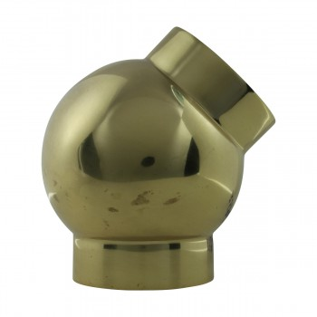 <PRE>Tubing Connector Polished Brass Ball Joint Fit 1.5inch OD </PRE>zoom5