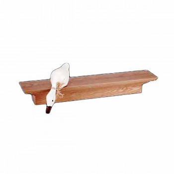 Bathroom Shelves Natural Oak Unfinished Mantle Shelf 60W
