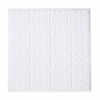 Polymer Plastic Ceiling Tile  AlexanderFleur De Lis