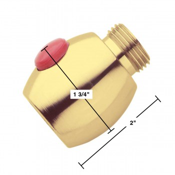 spec-<PRE>Shower Head Shut Off Valve Solid Brass</PRE>