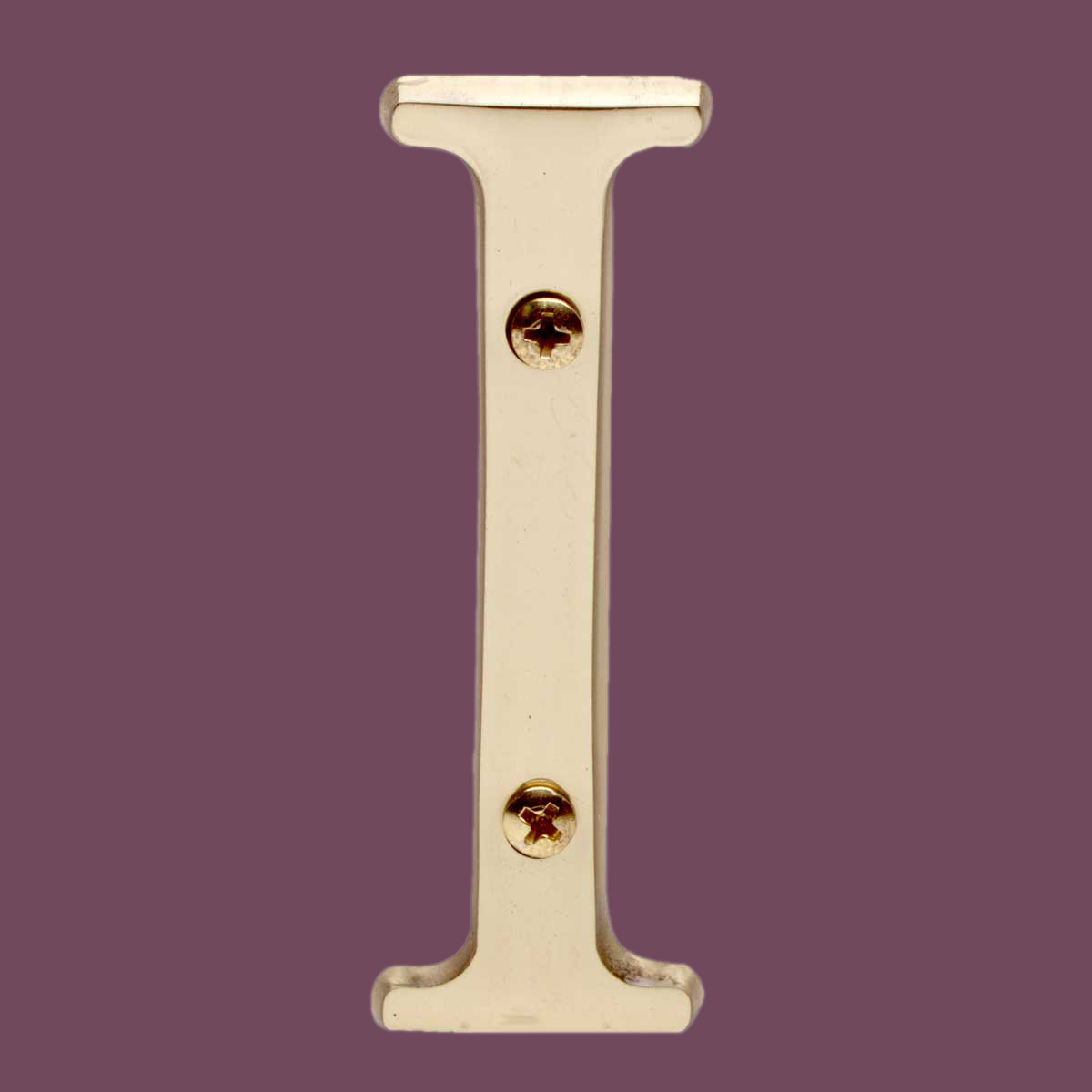 """Ct Sales Tax Rate >> Letter """"I"""" House Letters Solid Bright Brass 3"""""""