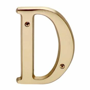 Brass Letter 4