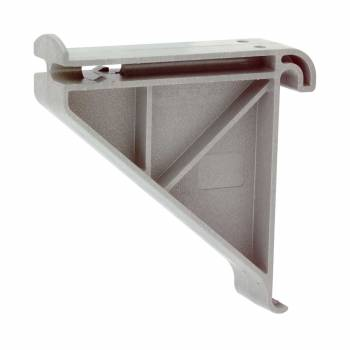 Shelves Expandable Polymer Garden Tool Shelf Rack 18739grid