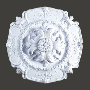 "<PRE>Ceiling Medallion White Urethane 16 1/2inch"" Diameter  </PRE>zoom2"