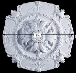 Ceiling Medallions - Victorian Ceiling Medallion 16 1/2 inch diameter by the Renovator's Supply