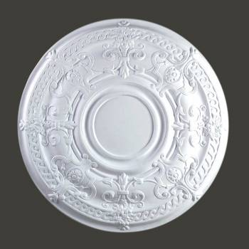 <PRE>Ceiling Medallion White Urethane 34 1/8inch Diameter  </PRE>zoom2