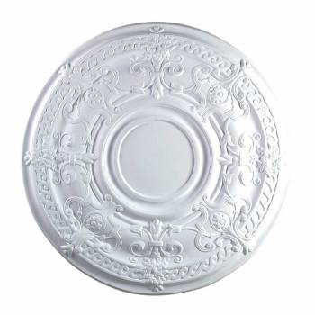Ceiling Medallion White Urethane 34 1/8