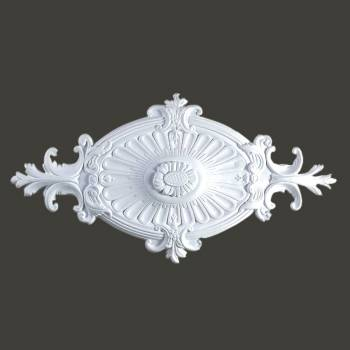 "spec-<PRE>Ceiling Medallion White Urethane 12"" H X 24"" W  </PRE>"
