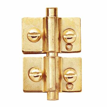 Mirror Hinge Right Brass Hinge 3/4