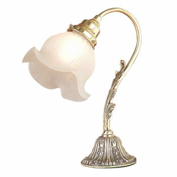 Table Lamp Antique Brass Sea Flower Lamp 13