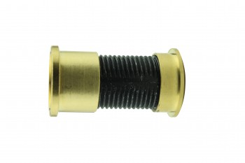 "<PRE>Door Peephole Viewer Brass 160 degree 1 1/8inch to 2 1/16"" Adjustable Length</PRE>zoom3"