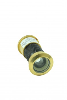 Door Peephole Viewer Brass 160 degree 1 1/8